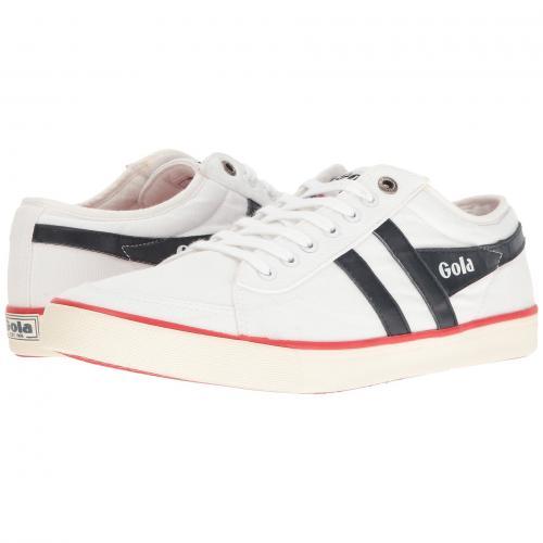ゴーラ メンズ 男性用 靴 スニーカー メンズ靴 【 GOLA COMET WHITE NAVY RED 】