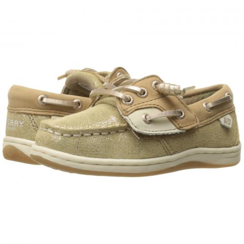 JR. 子供用 ビッグキッズ 靴 マタニティ ベビー キッズ 【 SPERRY KIDS SONGFISH TODDLER LINEN GOLD 】