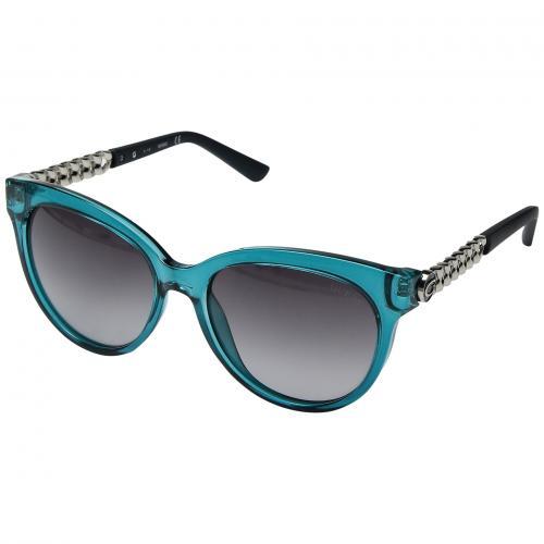 ゲス 青 ブルー レディース 女性用 ブランド雑貨 バッグ 小物 眼鏡 サングラス 【 BLUE GUESS GF6004 】