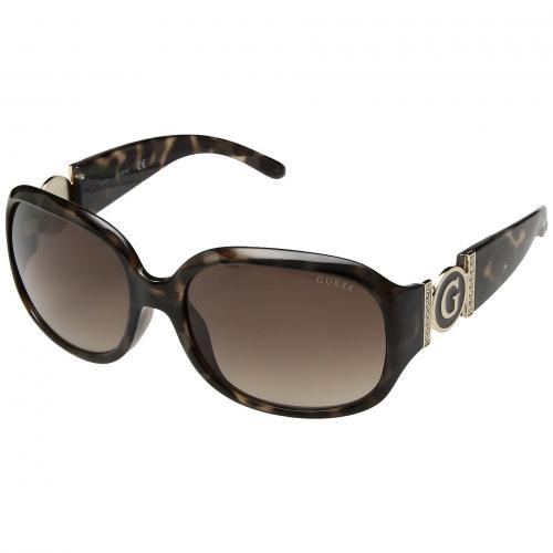 ゲス カラード 茶 ブラウン レンズ レディース 女性用 サングラス 眼鏡 ブランド雑貨 バッグ 小物 【 GUESS GU7005F COLORED HAVANA GRADIENT BROWN LENS 】