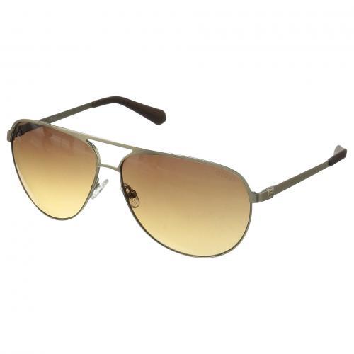 ゲス 茶 ブラウン メンズ 男性用 バッグ サングラス 小物 ブランド雑貨 眼鏡 【 GUESS GU6841 GOLD GRADIENT BROWN 】