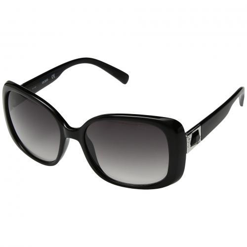 ゲス スモーク レンズ レディース 女性用 サングラス バッグ ブランド雑貨 小物 眼鏡 【 GUESS GU7314 BLACK GRADIENT SMOKE LENS 】