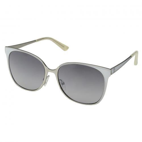 ゲス ミラー レディース 女性用 サングラス 小物 眼鏡 ブランド雑貨 バッグ 【 GUESS GU7458 WHITE SMOKE MIRROR 】
