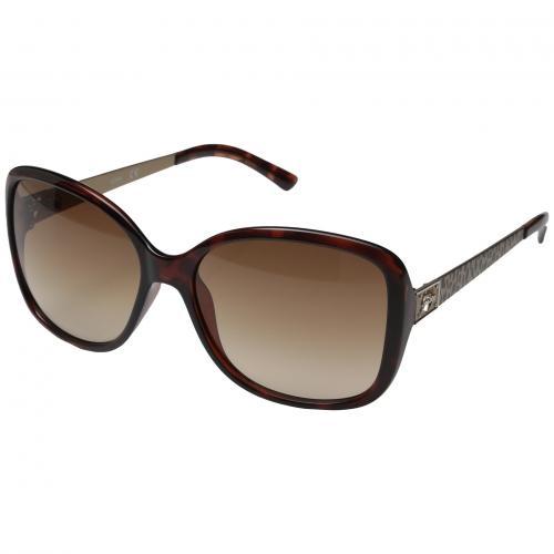 ゲス レンズ レディース 女性用 サングラス 眼鏡 小物 バッグ ブランド雑貨 【 GUESS GU7144 HAVANA BROWN GRADIENT LENS 】