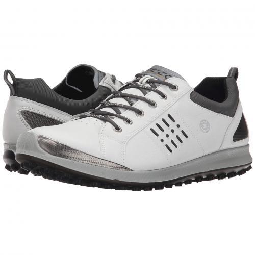 エコー ゴルフ ハイブリッド メンズ 男性用 メンズ靴 靴 スニーカー 【 GOLF HYBRID ECCO BIOM 2 GTX WHITE BLACK 】