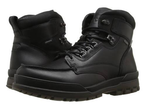 エコー トラック モック トー ブーツ メンズ 男性用 メンズ靴 靴 【 ECCO TRACK 6 GTX MOC TOE BOOT BLACK 】
