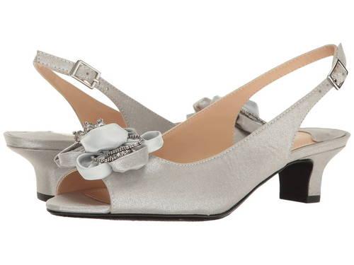 銀色 シルバー J. レディース 女性用 パンプス レディース靴 【 RENEE LEONELLE SILVER 】