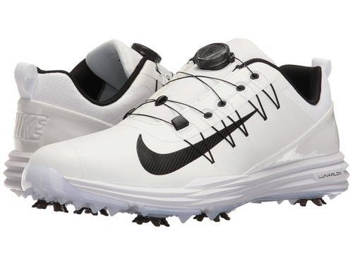 ナイキ ゴルフ ルーナー ルナー コマンド ボア メンズ 男性用 メンズ靴 【 NIKE GOLF LUNAR COMMAND 2 BOA WHITE BLACK 】
