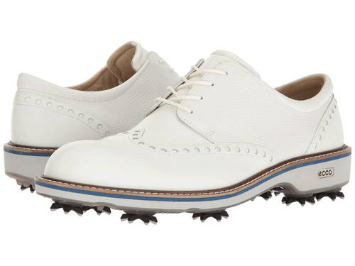 エコー ゴルフ ルクス メンズ 男性用 靴 【 GOLF ECCO LUX WHITE 】