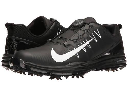ナイキ ゴルフ ルーナー ルナー コマンド ボア メンズ 男性用 メンズ靴 【 NIKE GOLF LUNAR COMMAND 2 BOA BLACK WHITE 】