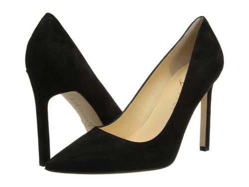 黒 ブラック スエード スウェード レディース 女性用 パンプス 靴 【 BLACK IVANKA TRUMP CARRA3 SUEDE 】