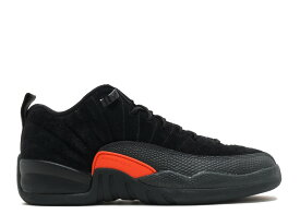 エアー ジョーダン レトロ ロー マックス 橙 オレンジ メンズ 男性用 スニーカー 靴 メンズ靴 【 AIR JORDAN ORANGE 12 RETRO LOW BG GS MAX BLACK ORANGEANTHRACITE 】