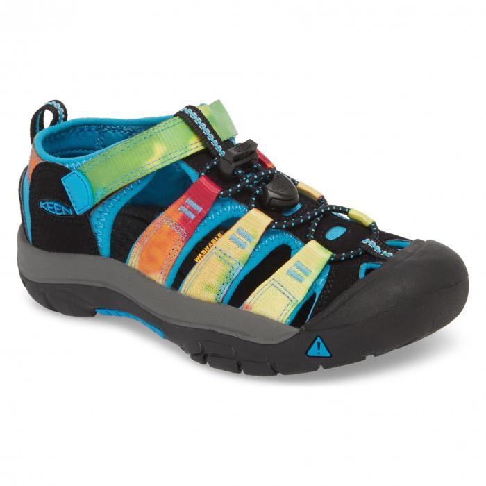 ウォーター フレンドリー サンダル レインボー ネクタイ 'NEWPORT H2' シューズ 靴 マタニティ ベビー キッズ 【 KEEN WATER FRIENDLY SANDAL RAINBOW TIE DYE 】