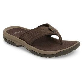 テバ フリップ フロップ ウォールナット シューズ コンフォートシューズ 靴 メンズ靴 【 TEVA LANGDON FLIP FLOP WALNUT 】
