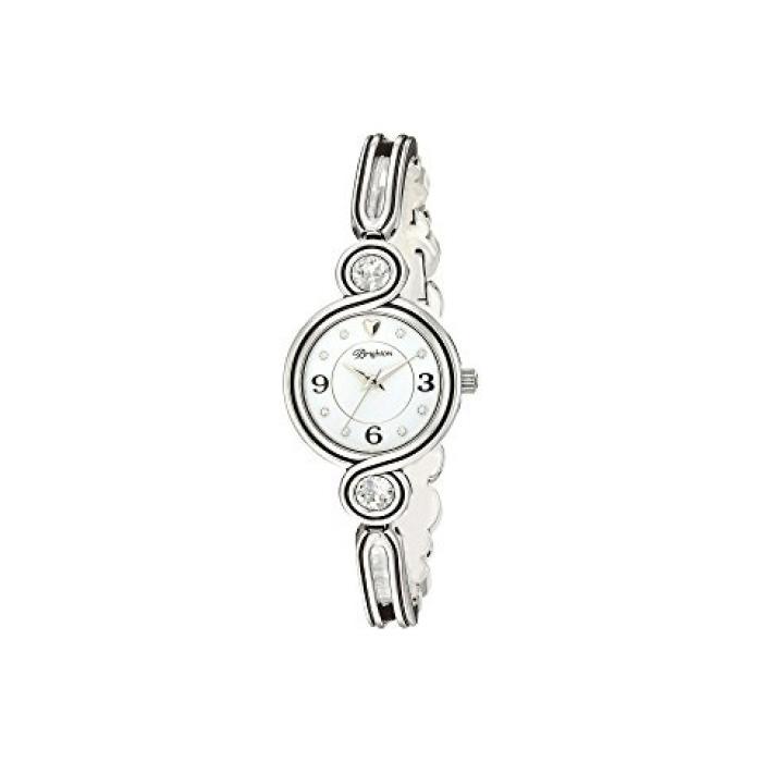 インフィニティー スパークル ウォッチ 時計 銀色 シルバー レディース 女性用 腕時計 レディース腕時計 【 WATCH BRIGHTON INFINITY SPARKLE SILVER 】
