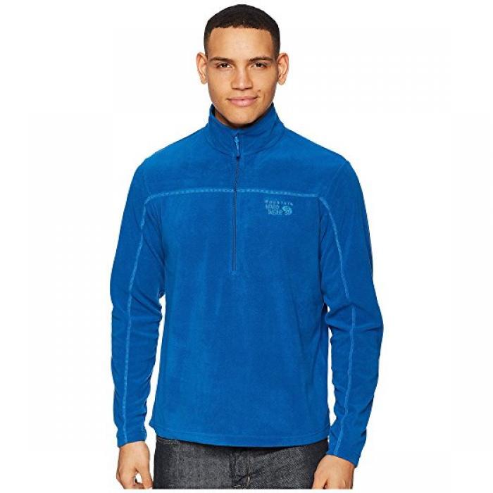 マウンテン ハードウェア ライト ジップ 青 ブルー MICROCHILL メンズ 男性用 メンズファッション ジャケット 【 BLUE MOUNTAIN HARDWEAR LITE ZIP T NIGHTFALL 】