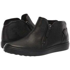【あす楽商品】エコー ソフト ロー カット ジップ カシミヤ カウ ヌバック メンズ 男性用 メンズ靴 靴 【 ECCO SOFT 7 LOW CUT ZIP BOOTIE CASHMERE COW NUBUCK 】