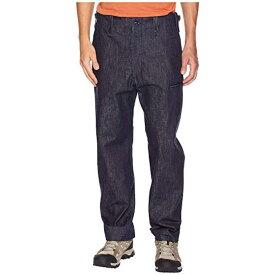 スノー ピーク デニム ミリタリー パンツ 藍色 インディゴ メンズ 男性用 メンズファッション 【 SNOW PEAK DENIM MILITARY PANTS INDIGO 】