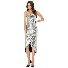 27bcb43ad1918 バルドー ランナウェイ ドレス ワンピース 銀色 シルバー レディース 女性用 レディースファッション   BARDOT RUNAWAY DRESS