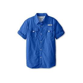 コロンビア 長袖 ロングスリーブ シャツ ビビッド 青 ブルー BAHAMA 子供用 リトルキッズ Tシャツ カットソー 【 BLUE COLUMBIA KIDS L S SHIRT VIVID 】
