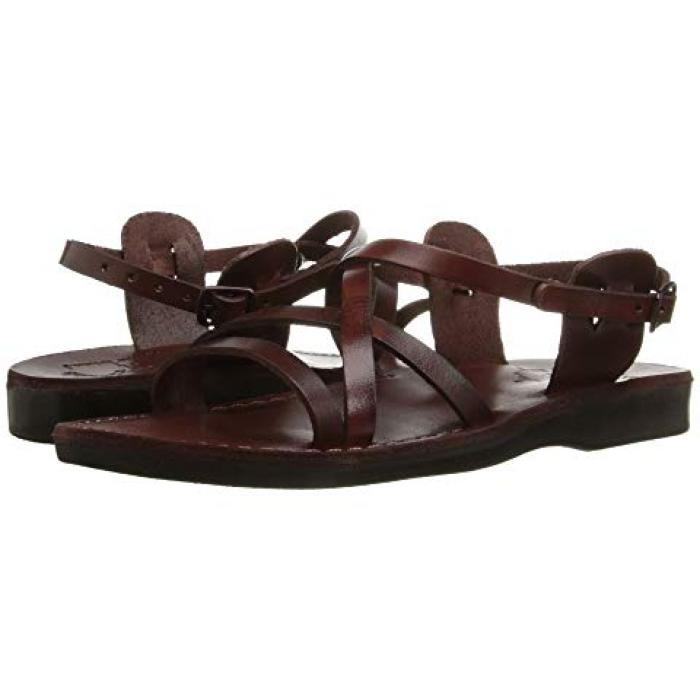 サンダル レディース 女性用 茶 ブラウン WOメンズ 男性用 メンズ靴 【 JERUSALEM SANDALS TZIPPORA BROWN 】