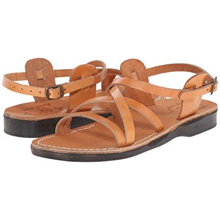 サンダル レディース 女性用 タン WOメンズ 男性用 靴 メンズ靴 【 JERUSALEM SANDALS TZIPPORA TAN 】
