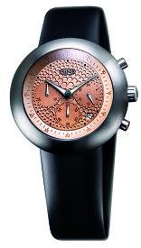 IKEPOD アイクポッド Chronopod クロノポッド 003 Gold Dots メンズ 腕時計 ブランド スーツ ビジネス ゴールド ブラック シルバー IPC003SILB エマニエル ギョエ マーク ニューソン シリコンベルト プレゼント ギフト お祝い