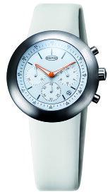 IKEPOD アイクポッド Chronopod クロノポッド 013 White Horses 腕時計 メンズ ビジネス スーツ ホワイトホース ホワイト 白 シルバー オレンジ IPC013SILW エマニエル ギョエ マーク ニューソン シリコンベルト ギフト プレゼント お祝い
