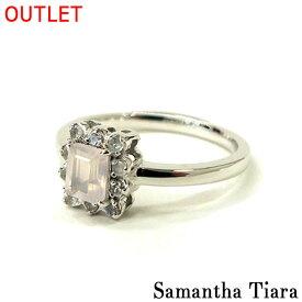 サマンサタバサ アクセサリー Samantha Tiara サマンサティアラ K18WG RQ RBM クオレ ホワイトゴールド 9号 アクセサリー プレゼント ギフト 指輪 リング OUTLET アウトレット