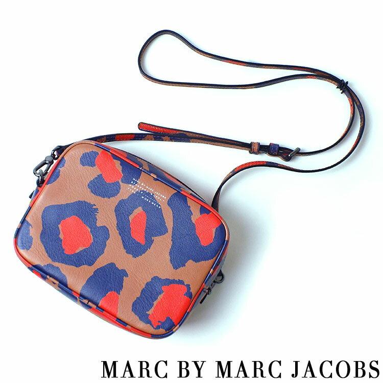 マークバイマークジェイコブス MARCBYMARCJACOBS sophisticato printed leopard camera cross body bag ショルダーバッグ