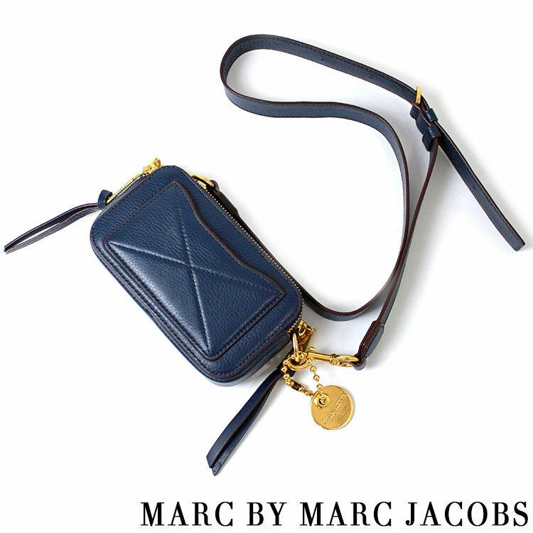 マークバイマークジェイコブス MARCBYMARCJACOBS Recruit Camera Bag ショルダーバッグ ネイビーブルー
