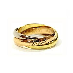 訳あり CARTIER カルティエ リング トリニティリング 4号 Sモデル 指輪 プレゼント リクエスト 女性