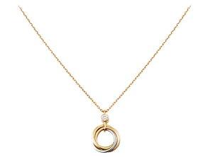 カルティエ TRINITY NECKLACE トリティ ネックレス ホワイトゴールド、イエローゴールド、ピンクゴールド、ダイヤモンド 品番: B7223500