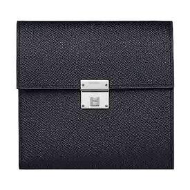 Hermes エルメス 財布 メンズ コンパクト三つ折り財布 Clic 12 wallet 並行輸入 bleu indigo