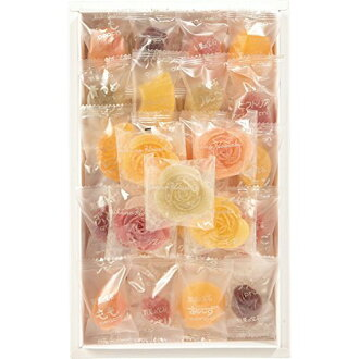 Entering jewel variety flower jelly of 彩果 (with 42 fruit jelly, flower jelly 5 personal budget 47)