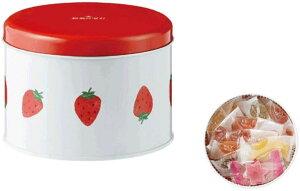 セット商品 彩果の宝石 ストロベリー缶+国産あられ2袋セット