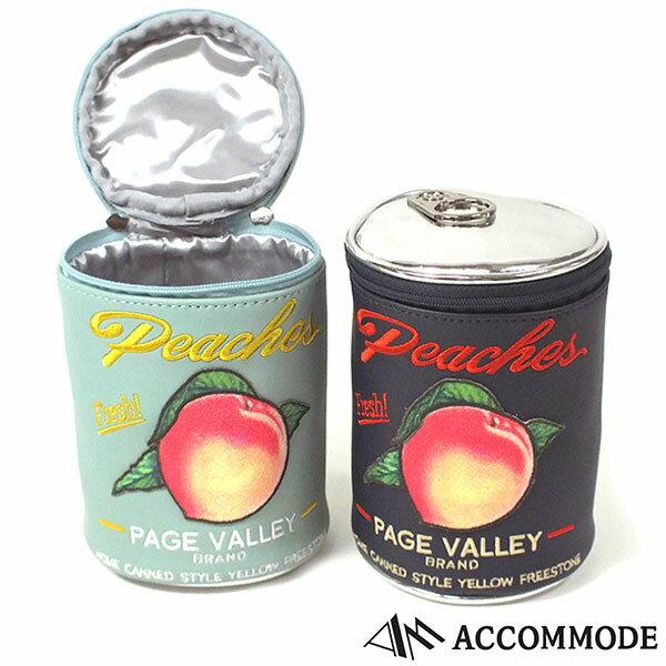 アコモデ Accommode MOMO CAN Pouch モモカン ポーチ 全3色 送料無料 代引き料有料 消費税込