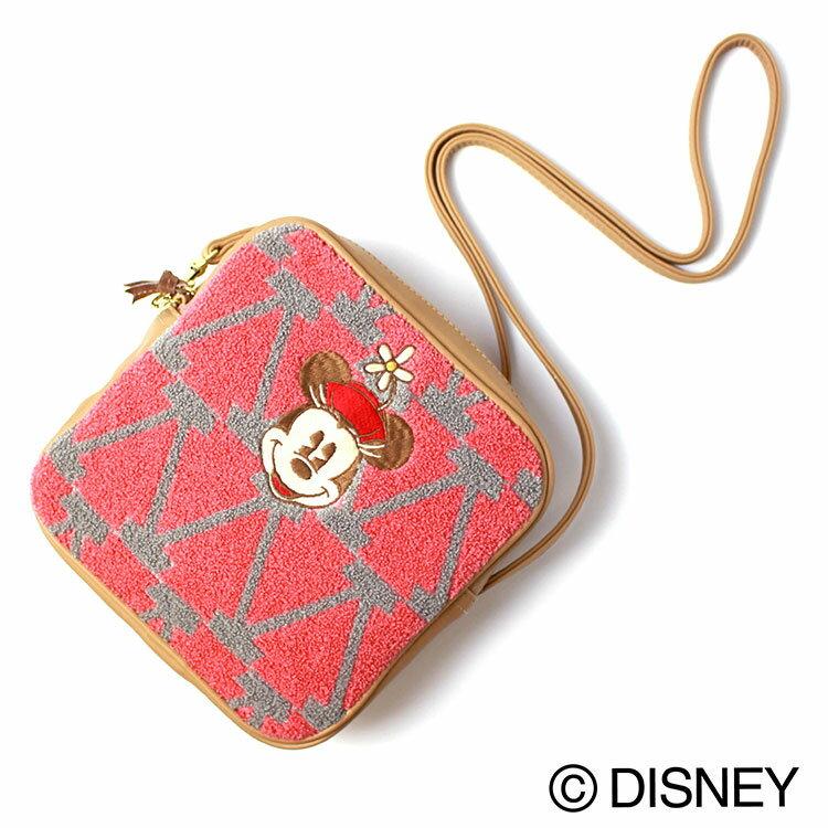 アコモデ ディズニー / Disney pattern Sagara Shoulder bag ディズニー パターンサガラ ショルダーバッグ 全4色