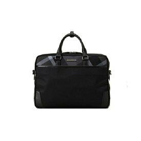 ブラックレーベル クレストブリッチ メンズ トーナルクレストブリッジチェックブリーフバッグ トート ビジネスバッグ ブラック BLACK LABEL CRESTBRIDGE