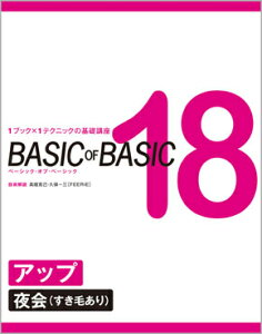 BASIC OF BASIC 18 アップ〈夜会(すき毛あり)〉 高畑克己・久保一三[FEERIE]/技術解説