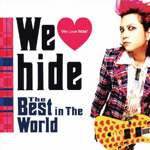 【送料無料】We ■ hide The Best in The World/hide[CD]通常盤【返品種別A】