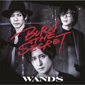 【送料無料】[枚数限定][限定盤]BURN THE SECRET(初回限定盤)/WANDS[CD+DVD]【返品種別A】