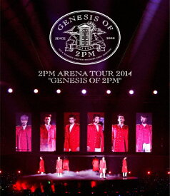 """【送料無料】2PM ARENA TOUR 2014""""GENESIS OF 2PM""""/2PM[Blu-ray]【返品種別A】"""