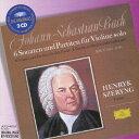 バッハ:無伴奏ヴァイオリンのためのソナタとパルティータ(全曲)/シェリング(ヘンリク)[CD]【返品種別A】