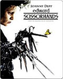 【送料無料】[枚数限定][限定版]〔スチールブック仕様〕シザーハンズ〔2,400セット完全数量限定生産〕/ジョニー・デップ[Blu-ray]【返品種別A】