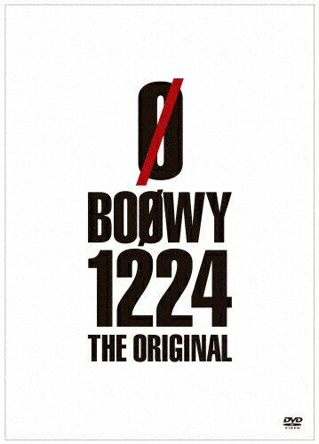 【送料無料】1224 -THE ORIGINAL-【DVD】/BOΦWY[DVD]【返品種別A】