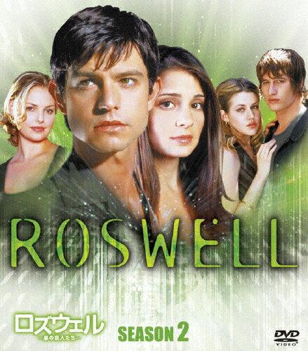 【送料無料】ロズウェル/星の恋人たち シーズン2 <SEASONSコンパクト・ボックス>/シリ・アップルビー[DVD]【返品種別A】