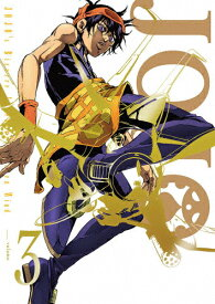 【送料無料】[限定版]ジョジョの奇妙な冒険 黄金の風 Vol.3<初回仕様版>/アニメーション[Blu-ray]【返品種別A】