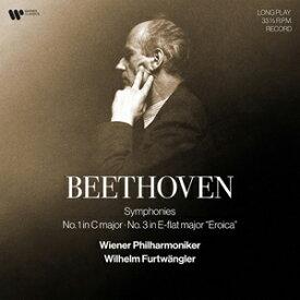 【送料無料】[枚数限定][限定]ベートーヴェン:交響曲第1&3番(2021年リマスター音源使用アナログLP盤)【輸入盤】▼/ヴィルヘルム・フルトヴェングラー[ETC]【返品種別A】