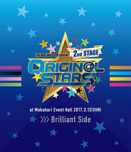 【送料無料】THE IDOLM@STER SideM 2nd STAGE 〜ORIGIN@L STARS〜 Live Blu-ray【Brilliant Side】/アイドルマスターSideM[Blu-ray]【返品種別A】